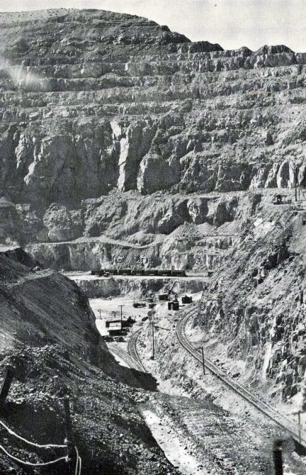 United Verde open pit mine, Jerome, Arizona