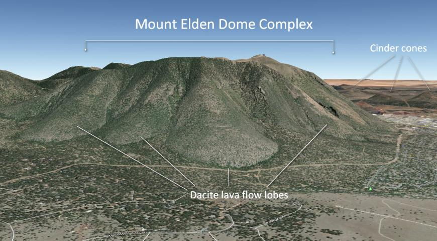 Mount Elden Dome complex