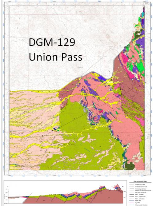 Union Pass digital geologic map