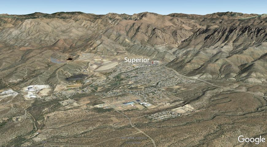 Superior ca. 2017. Courtesy of Google Earth