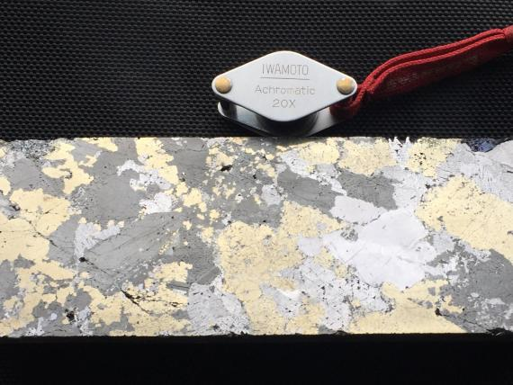 Core from the Taylor zinc-lead-silver deposit