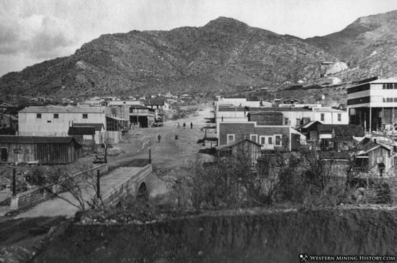 Superior, Arizona, ca. 1900s. Courtesy of Western Mining History
