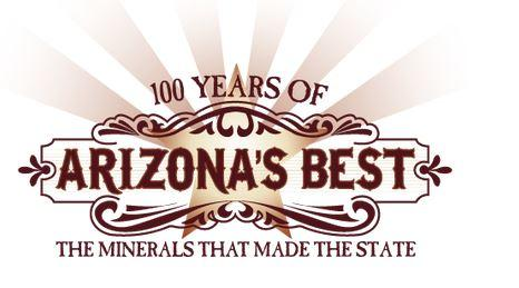 AZ best minerals - flandrau exhibit