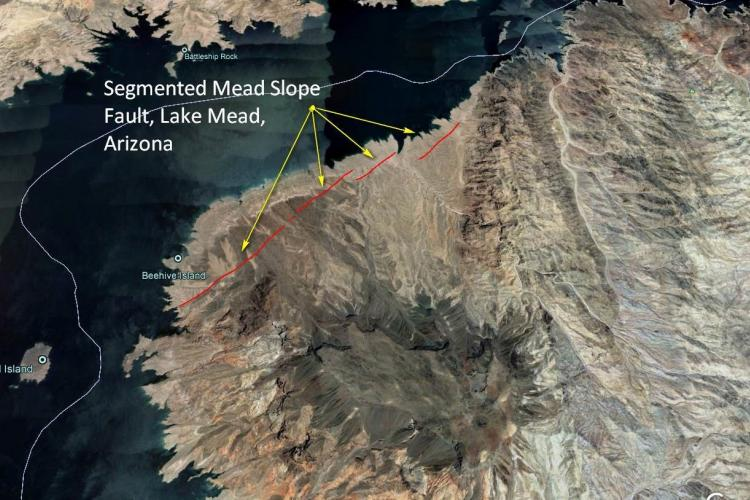 Lake Mead Setting - Mead Slope Fault