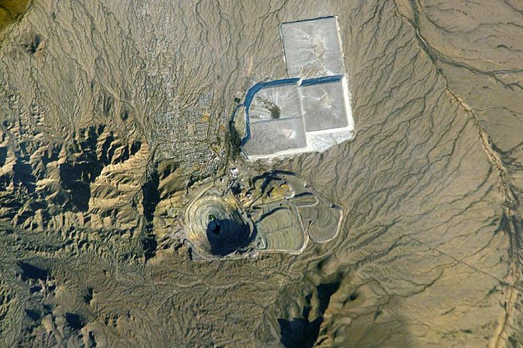 New Cornelia Mine, Ajo, Arizona (NASA)