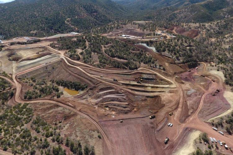 Arizona Mining, Inc's, Hermosa Project, Patagonia Mountains, Santa Cruz County, Arizona