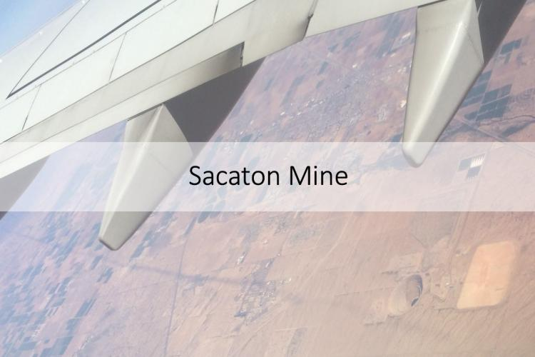Sacaton Mine from the air