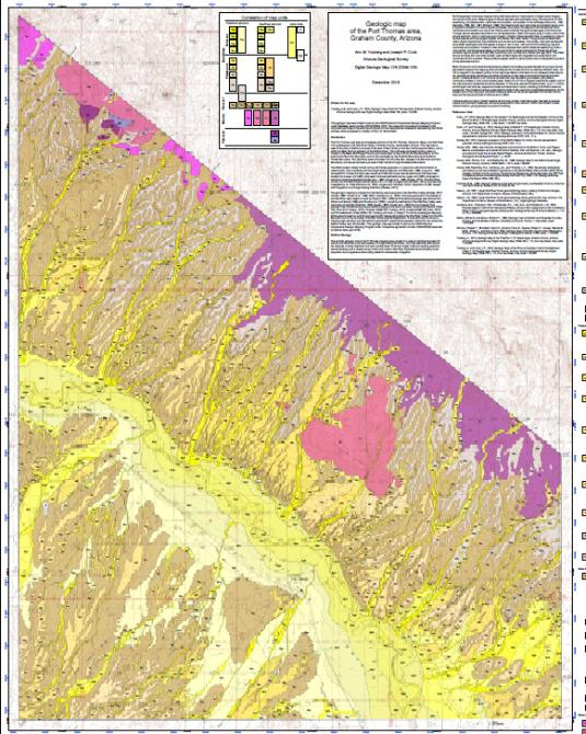 AZGS releases three new geologic maps & accompanying ... on geographical map, nautical chart, physical map, treasure map, michigan geology map, gis map, topographical map, relief map, aeronautical chart, flow map, world map, our travels map, structural map, topological map, choropleth map, raised-relief map, new york state geologic map, pictorial maps, political map, us geology map, index map, economic map, climate map, thematic map, weather map, isopach map, william smith, geotechnical engineering, mineral map, vegetation map, land map, physiographic map, topographic map,