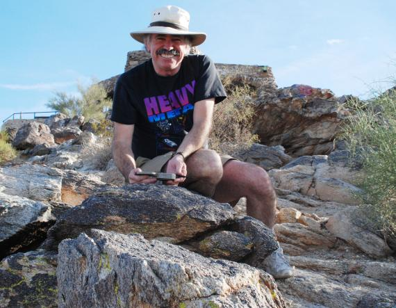 Steve Reynolds at South Mountain, Phoenix, Arizona