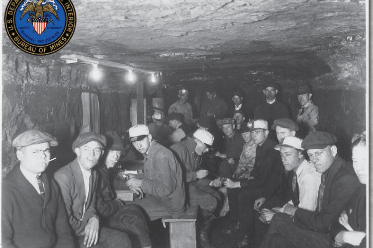 US Bureau of Mines historic photo