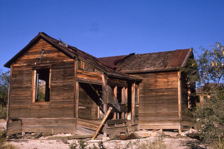 Abandoned mining camp in Helvetia, Arizona (J. Rasmussen)