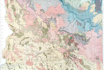 1924 Geologic Map of Arizona